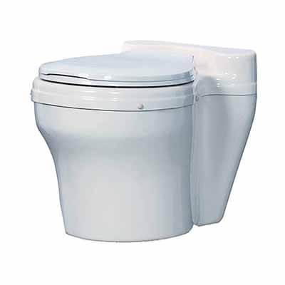 Sun-Mar Corp Dry Toilet White
