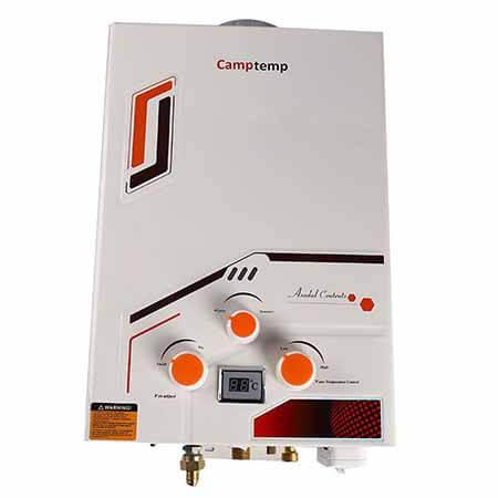 Camptemp Propane CP158 1.58GPM 6L
