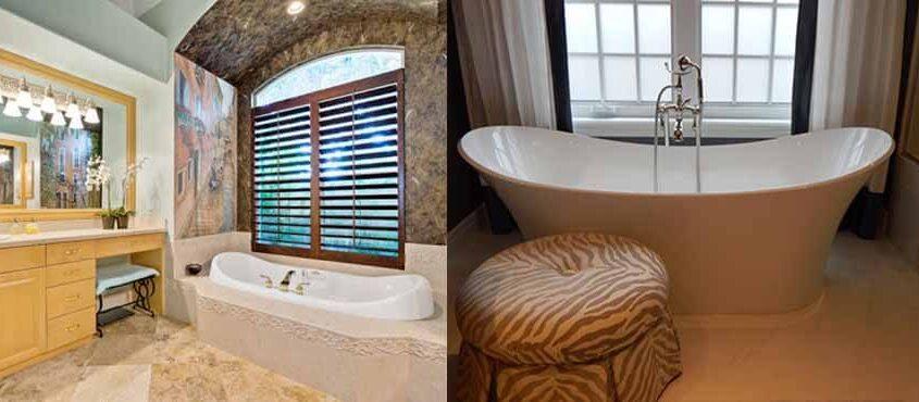 Alcove VS Freestanding Tub